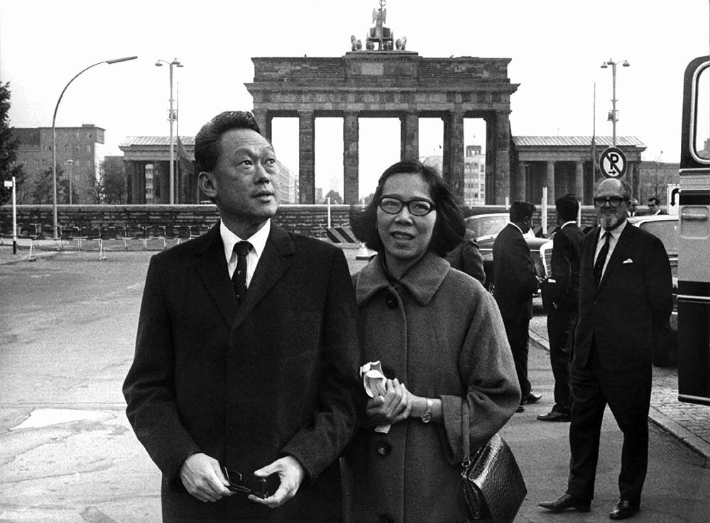 Ли Куан Ю в Берлине
