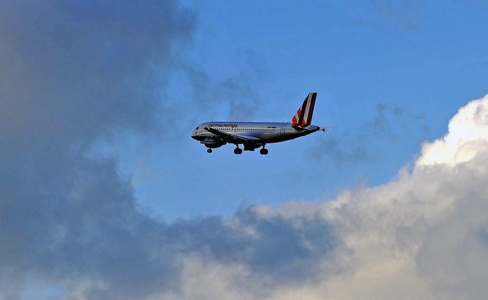Самолет авиакомпании Germanwings
