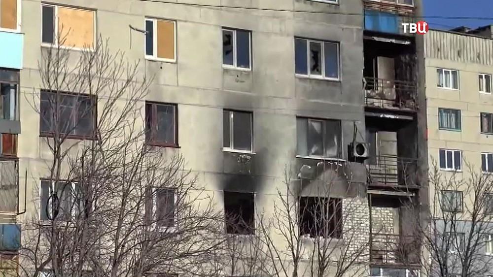 Последствия военных действий в Донбассе