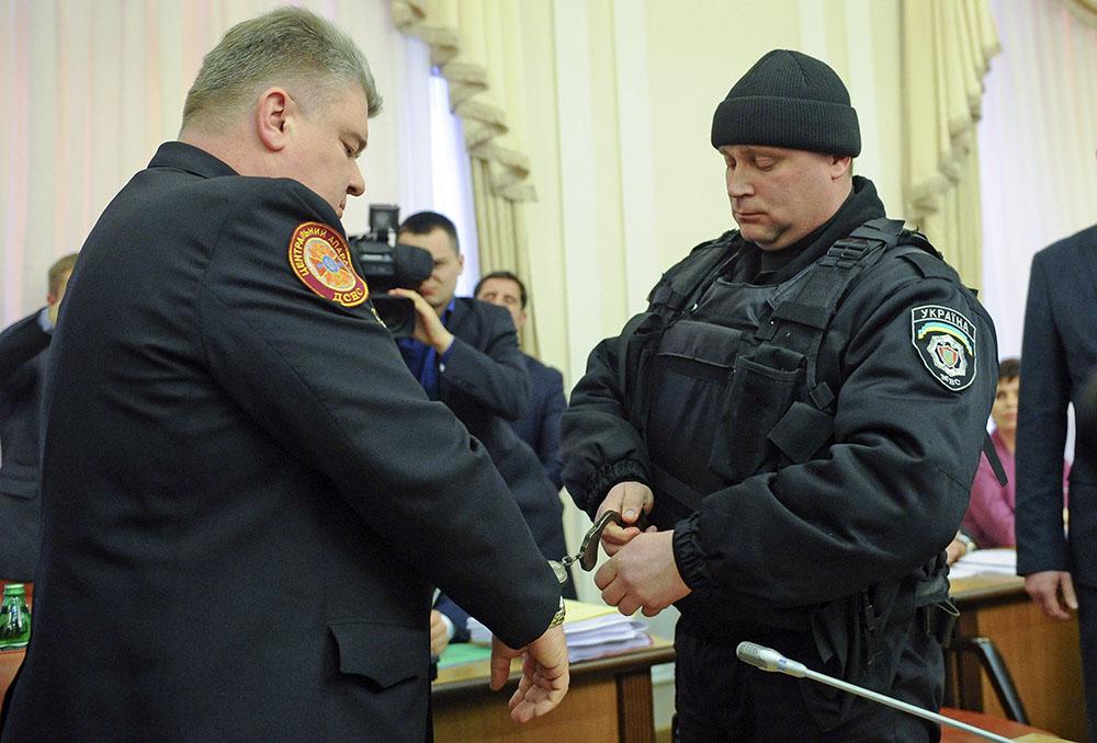 Арест министра по чрезвычайным ситуациям Украины Сергея Бочковского