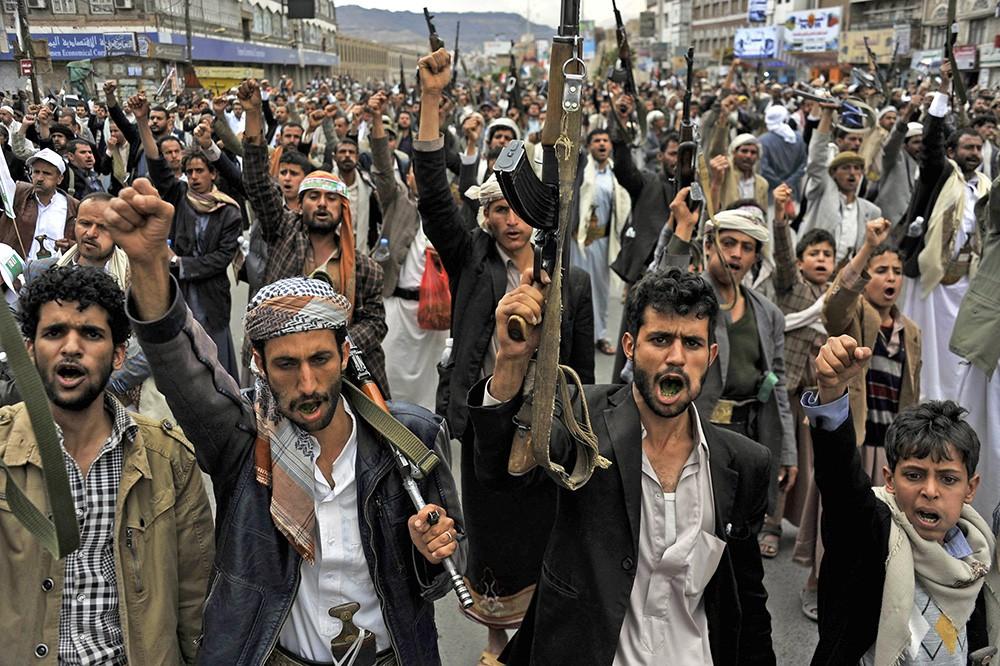 Вооруженные жители Йемена
