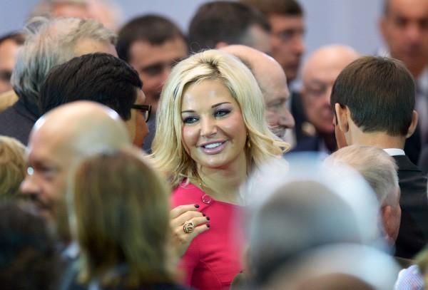 Член комитета Госдумы РФ по культуре Мария Максакова