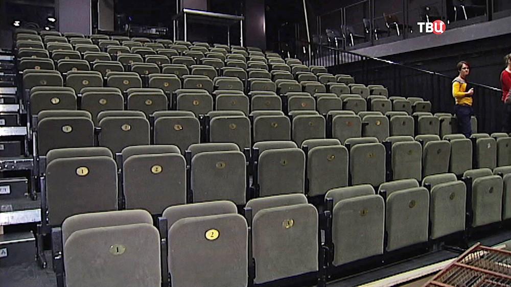 Пустой театральный зал