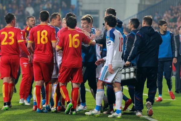 Игроки сборной Черногории