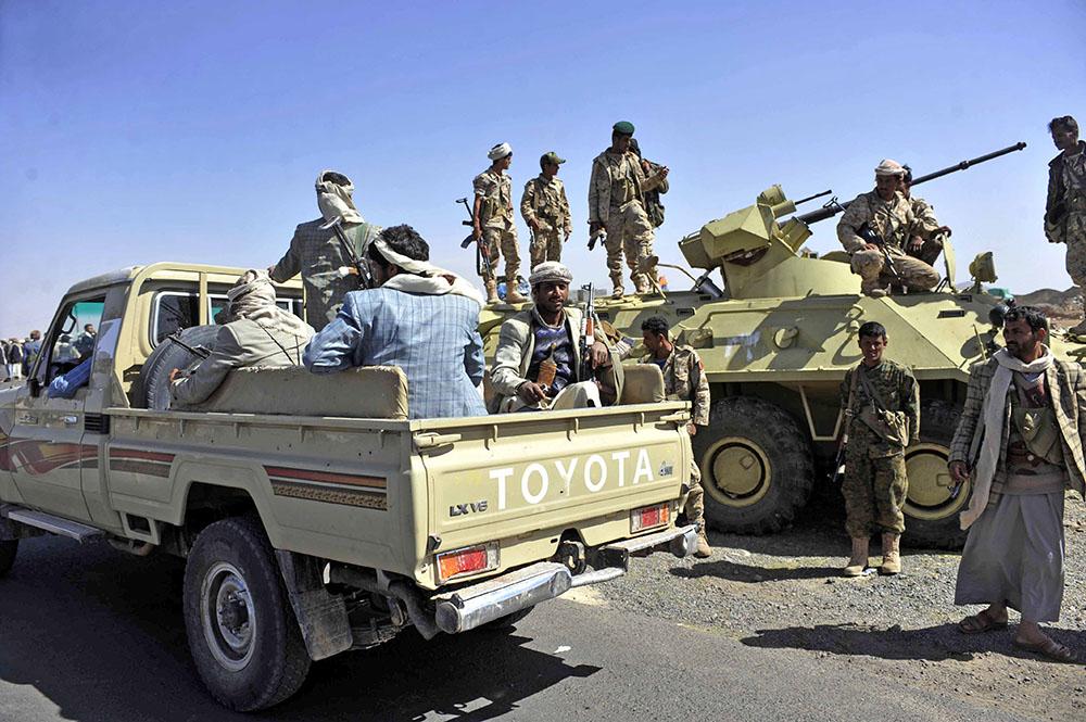 Повстанцы в Йемене