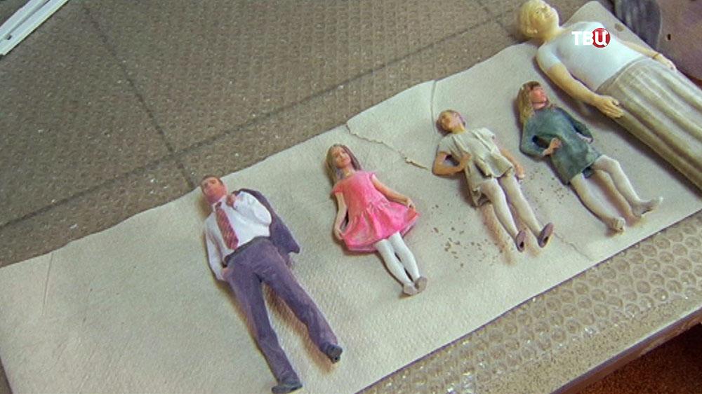 Распечатанные 3D-принтером фигуры