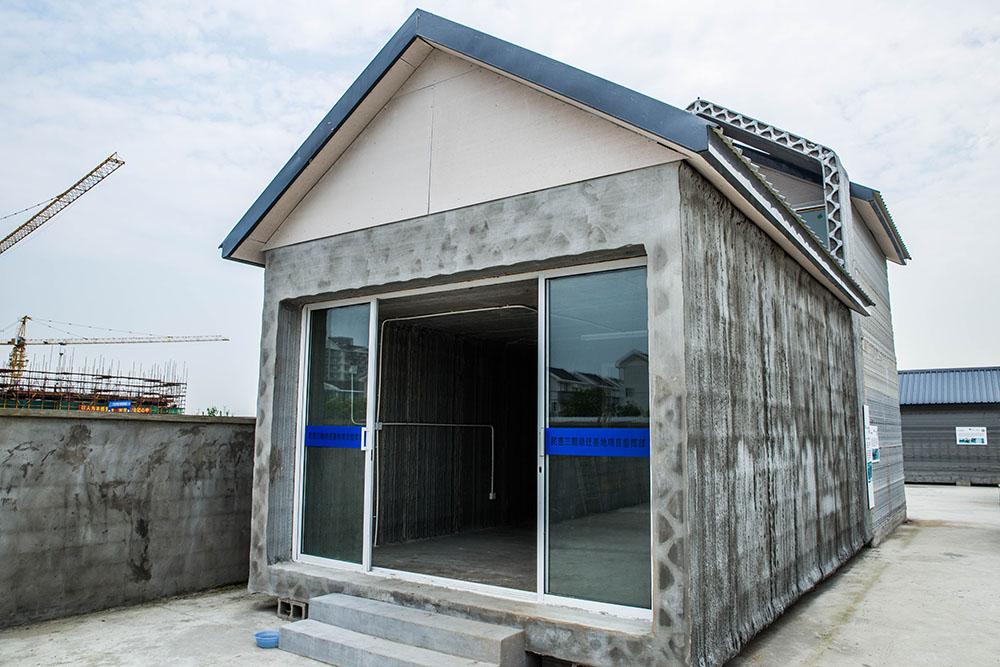 Напечатанный 3D-дом