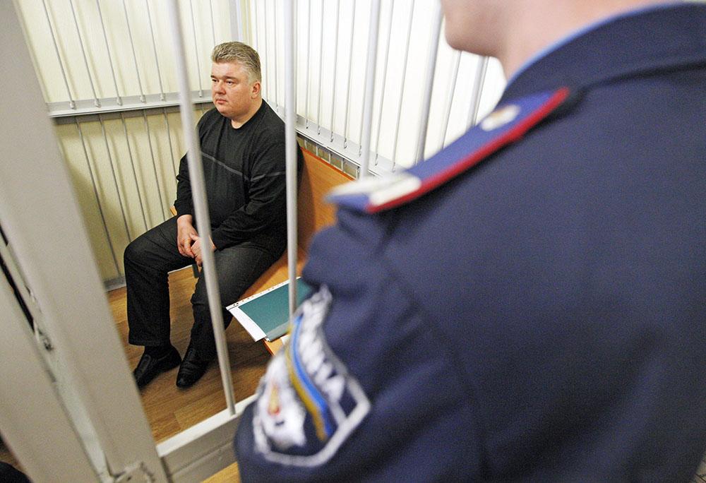Арестованный министр по чрезвычайным ситуациям Украины Сергей Бочковский