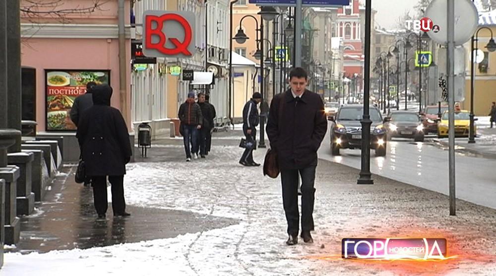 Ветреная погода в Москве