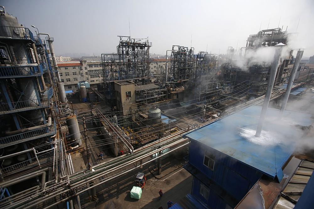 Завод в Китае
