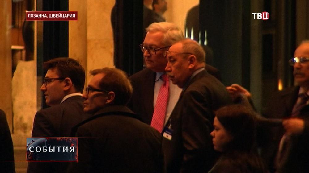 """Переговоры Ирана и """"шестерки"""" в Лозанне"""