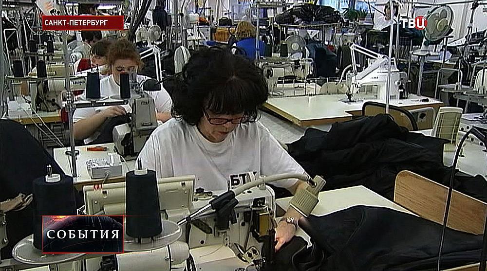 Фабрика по пошиву военной формы в Санкт-Петербурге