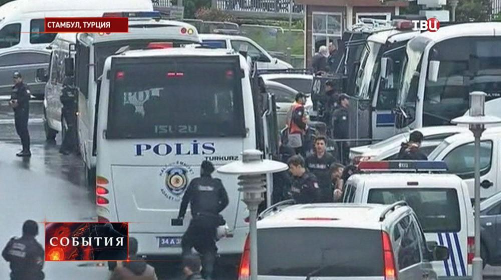 Полиция на месте захвата прокурора в Турции