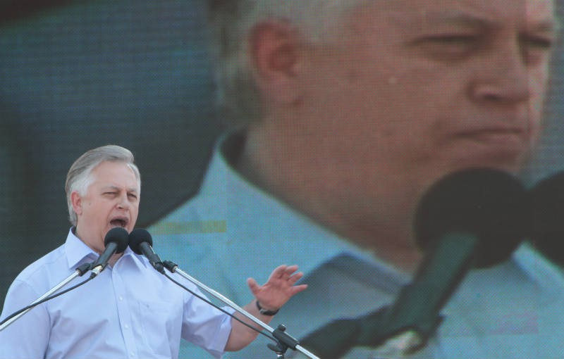 Глава Коммунистической партии Украины Пётр Симоненко