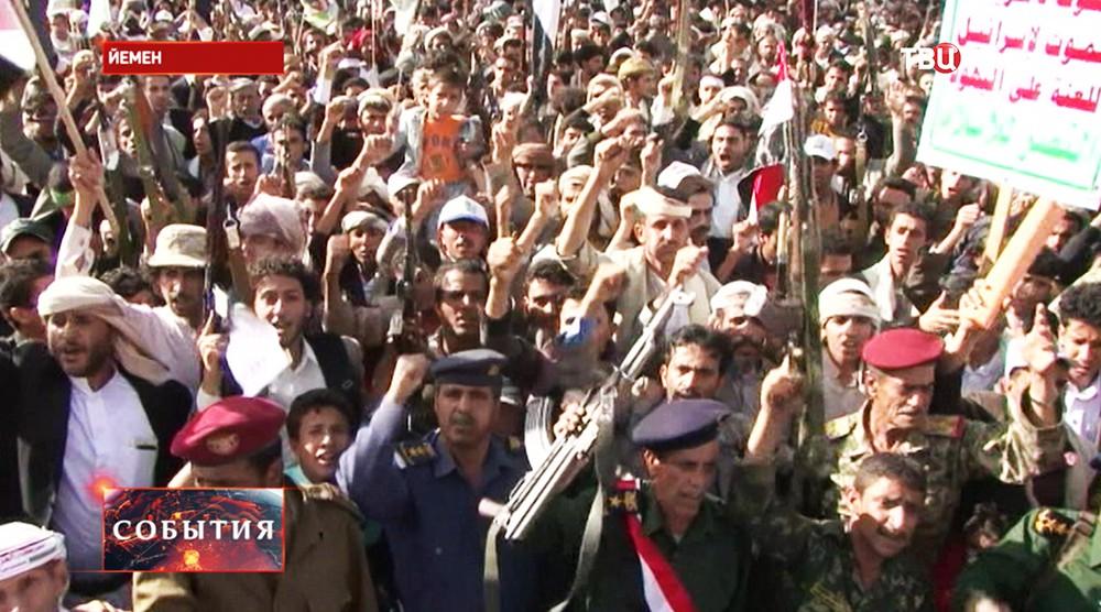 Массовые волнения в Йемене