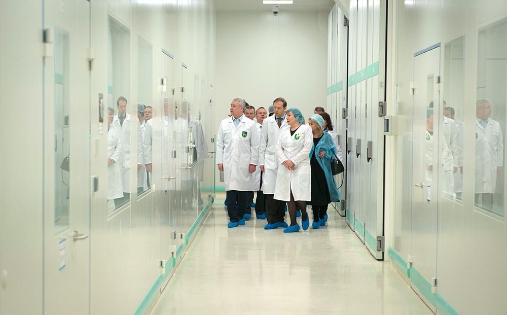 Посещение Московского эндокринного завода