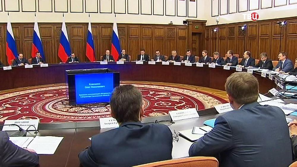 Дмитрий Медведев провёл совещание в Хабаровске