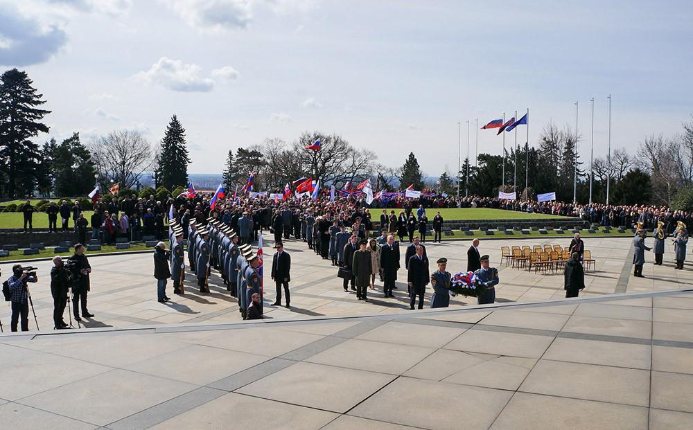 Торжества в честь 70-летия освобождения Братиславы советскими солдатами