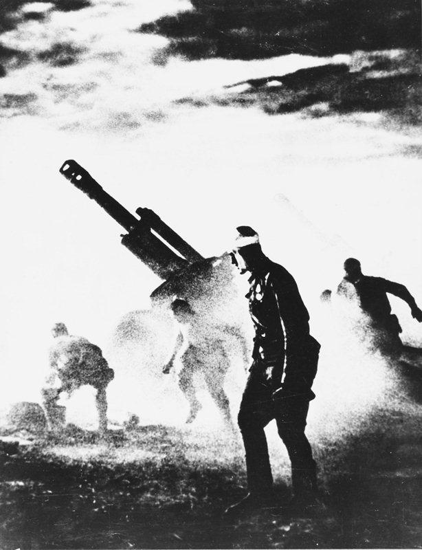 Артиллерия под Курском