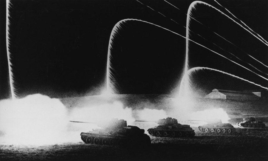 Сигнальные ракеты. Курск, 1943 год