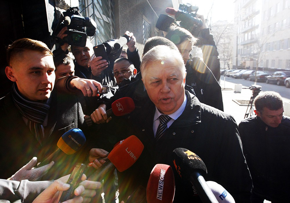 Лидер Компартии Украины Пётр Симоненко