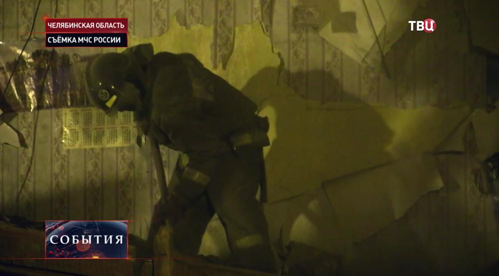 Взрыв в жилом доме в Челябинске