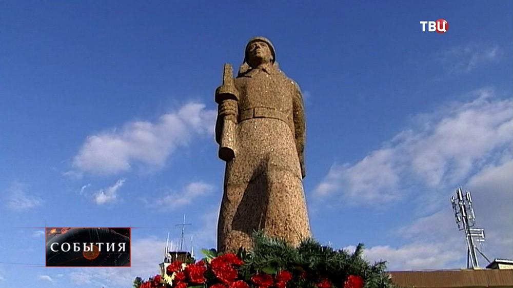 Воинский мемориал в Гатчине