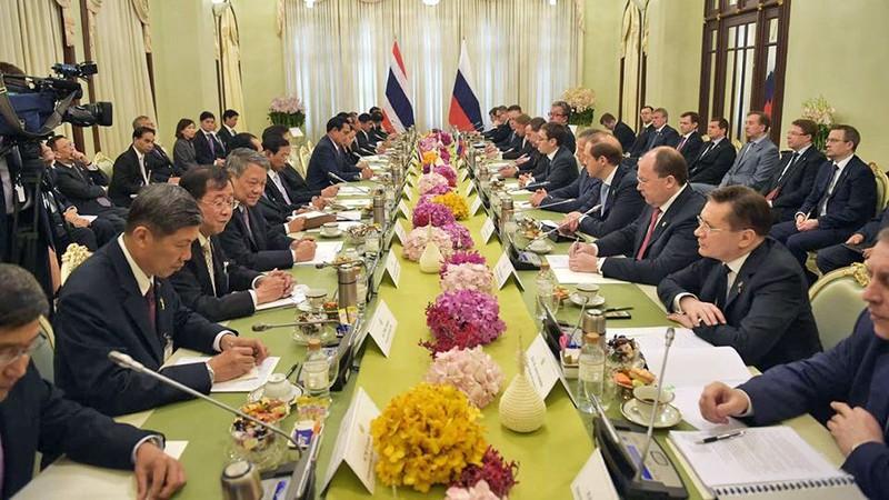 Российско-таиландские переговоры