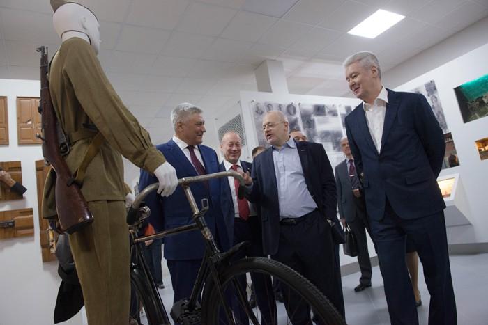 Открытие музея Московского уголовного розыска