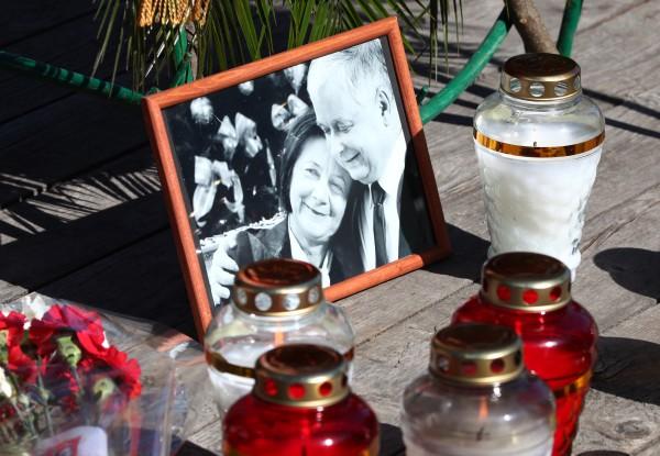 Траурное мероприятие, посвященное пятой годовщине со дня авиакатастрофы польского самолета Ту-154 под Смоленском.