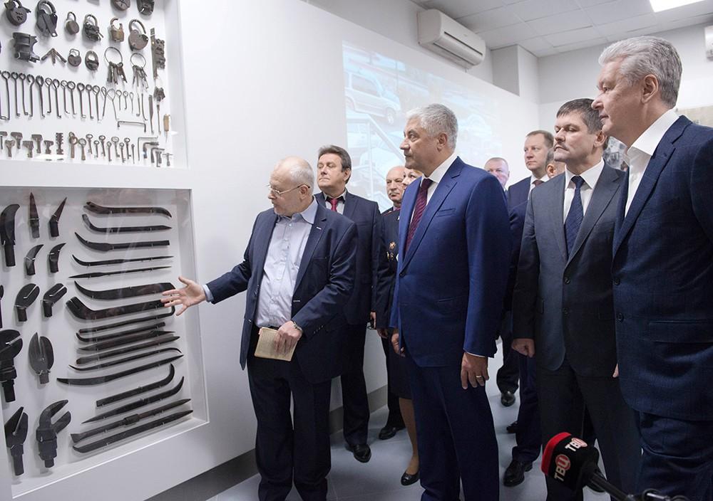 Осмотр музея Московского уголовного розыска