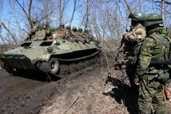 Ополченцы ДНР