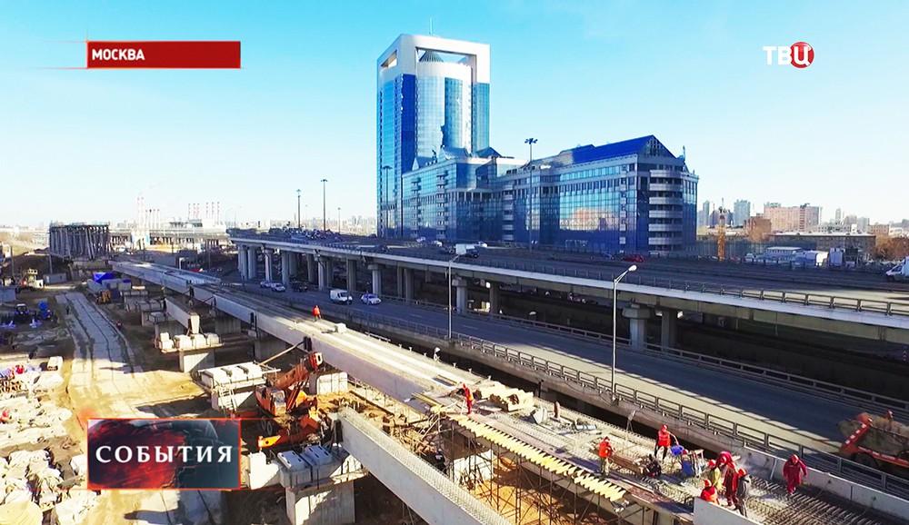 """Строительство транспортной развязки в районе """"Москва-сити"""""""