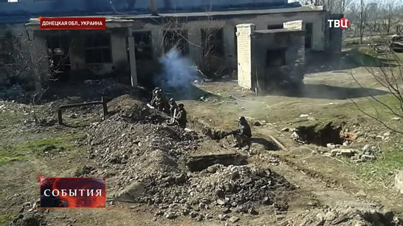 Стрельба в Донецкой области