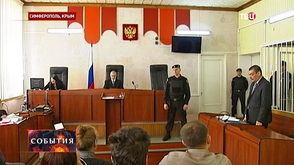 Суд в Крыму над активистом Майдана Александром Костенко