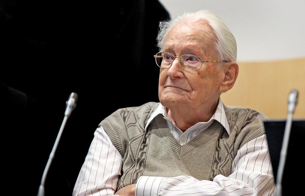 "Суд над ""бухгалтером из Освенцима"" Оскаром Грёнингом"