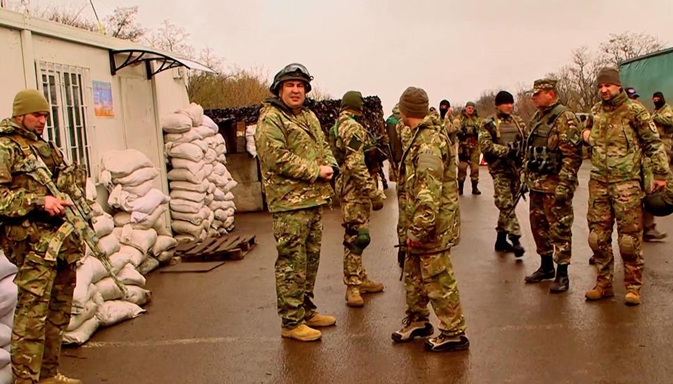 Михаил Саакашвили посетил юго-восток Украины