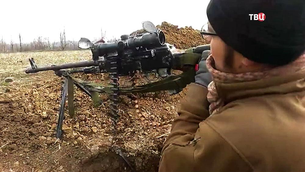 Военные действия на Донбассе