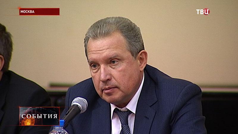 Руководитель Департамента здравоохранения города Москвы Алексей Хрипун