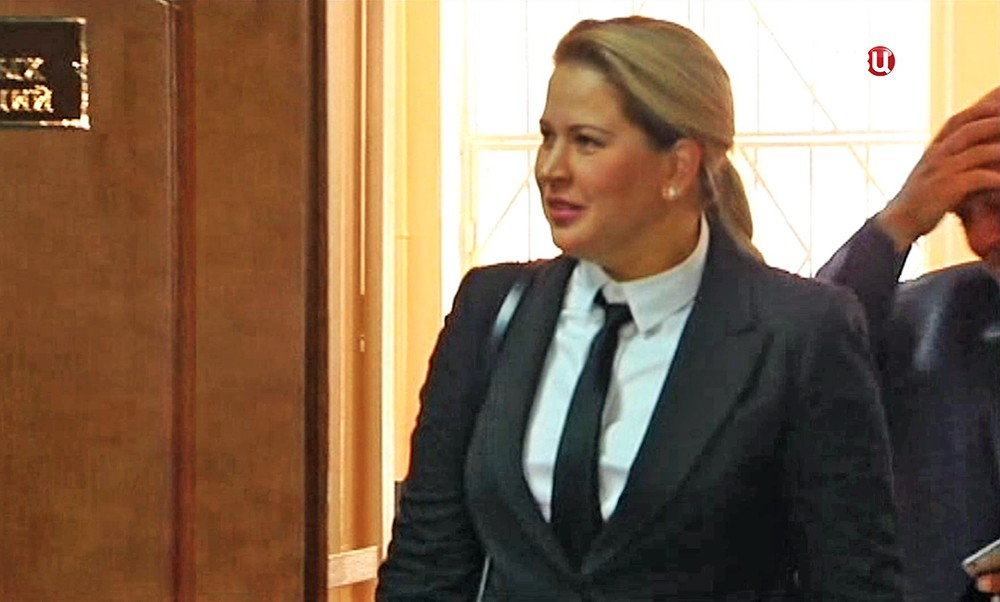 Евгения Васильева в суде