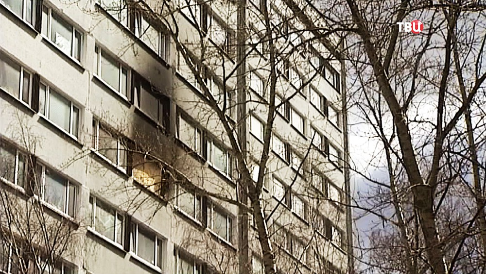 Последствия пожара в общежитии медуниверситета им. Пирогова