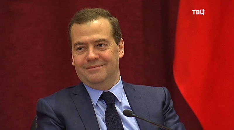 Председатель правительства России Дмитрий Медведев