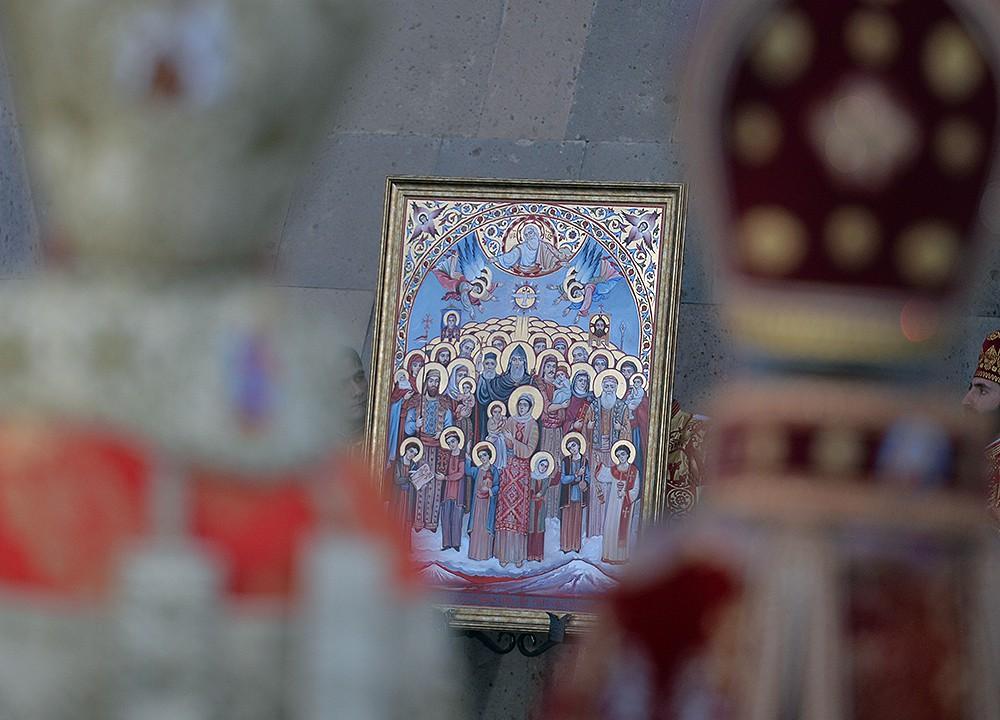 Церемония канонизации жертв геноцида армян