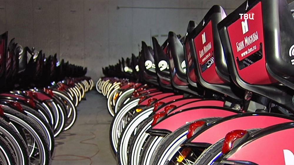 Склад велосипедов