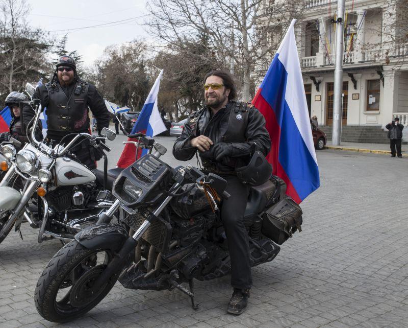 """Байкерский клуб """"Ночные волки"""""""