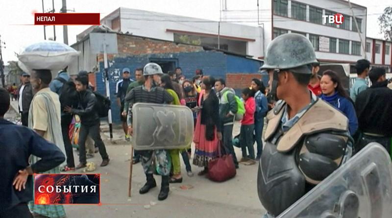 Спасательная операция в Непале