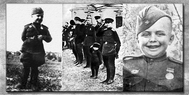 Сын полка Сережа Алешков