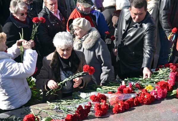Траурные мероприятия в Одессе