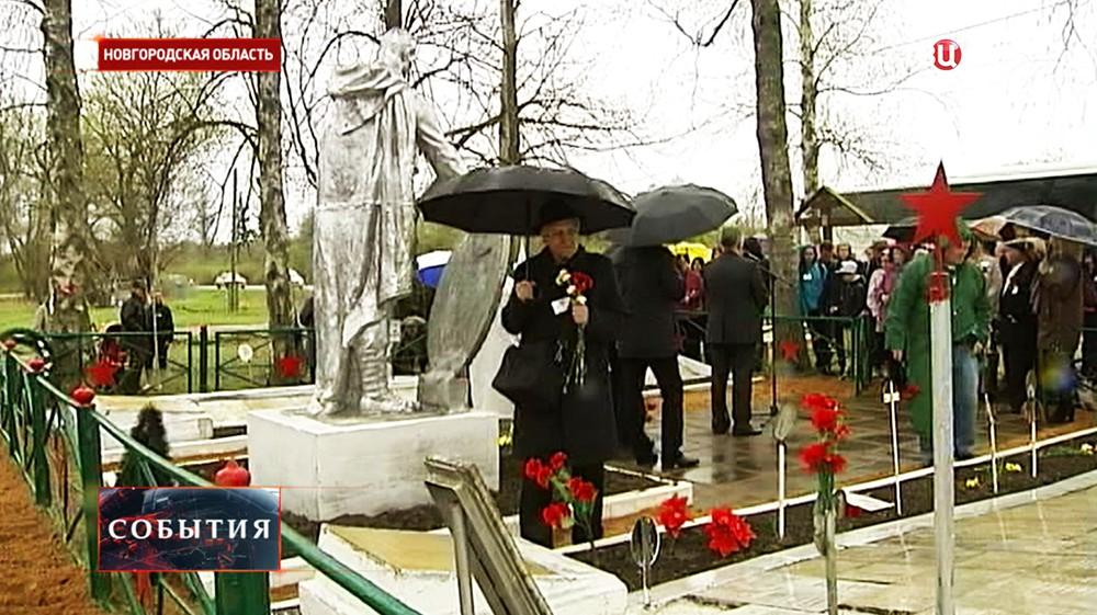 Военное кладбище в деревне Нагово