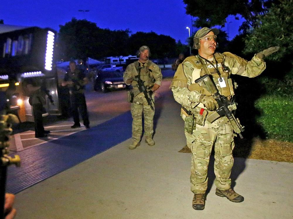 Спецоперация полицейского спецназа США